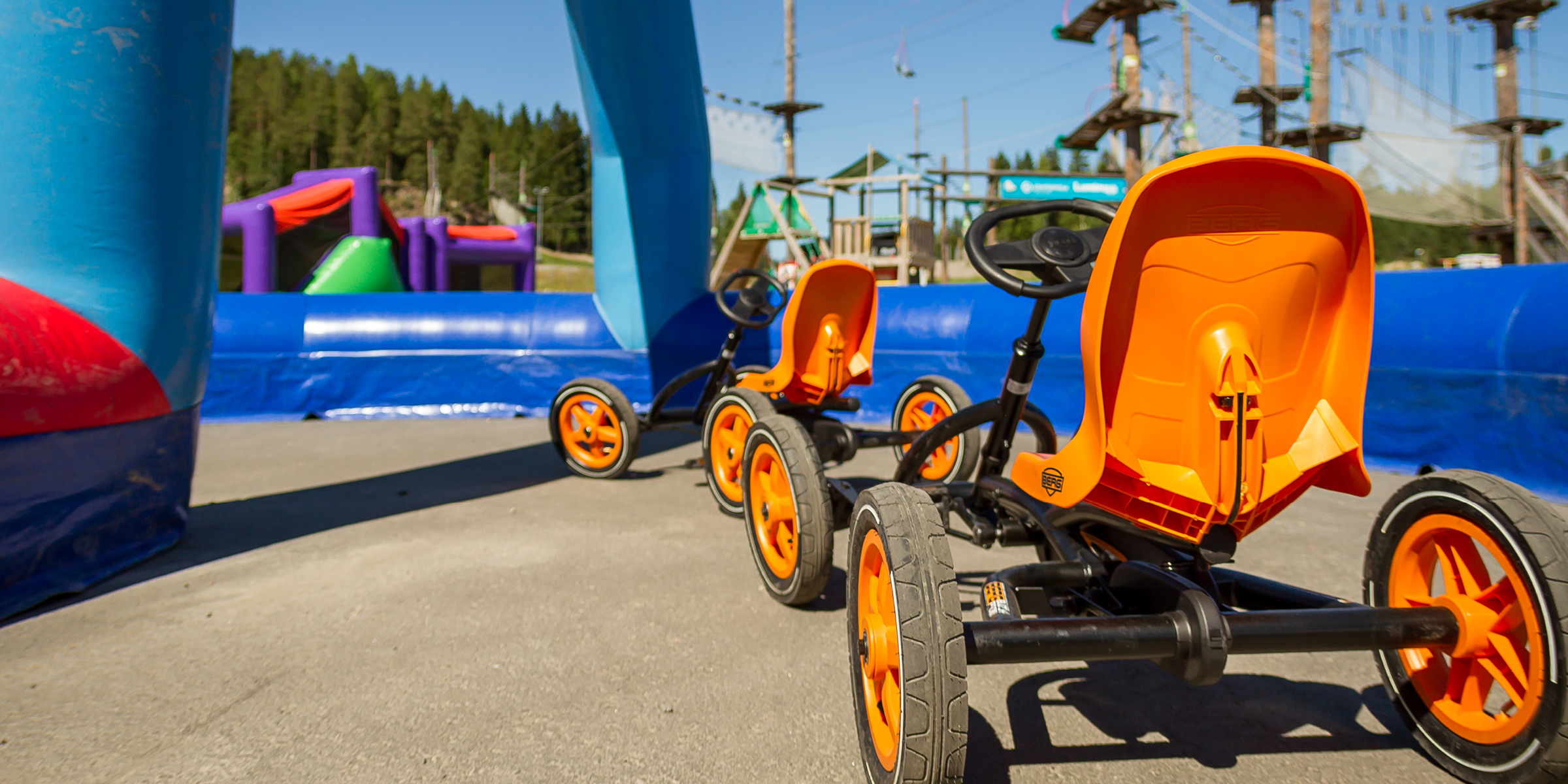 Funland pedal cars