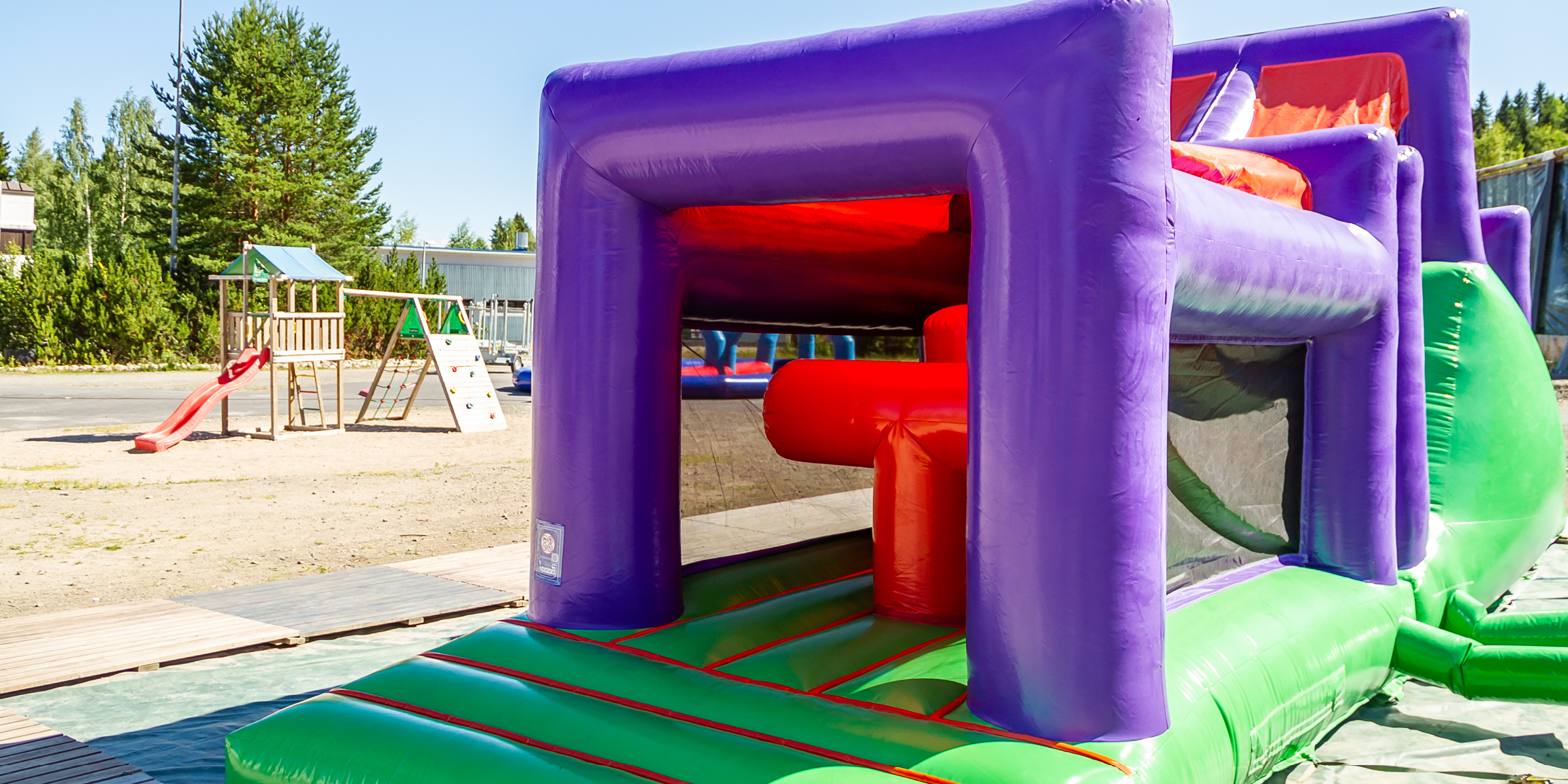 Funland bouncy castle