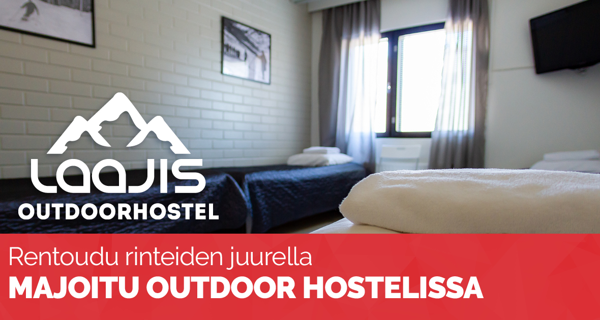 Laajis outdoor hostel